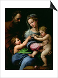 The Virgin of the Rose, circa 1518 Art par  Raphael