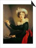 Self Portrait Posters par Elisabeth Louise Vigee-LeBrun