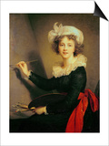 Self Portrait Posters by Elisabeth Louise Vigee-LeBrun
