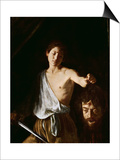 David with the Head of Goliath, 1606 Posters by  Caravaggio