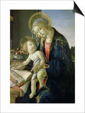 The Virgin Teaching the Infant Jesus to Read Poster by Sandro Botticelli