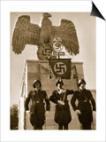 German Soldiers, from 'Germany: the Olympic Year', Pub. by Volk Und Reich Verlag Berlin, 1936 Print by  German photographer