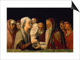 The Presentation of Jesus in the Temple Art by Giovanni Bellini