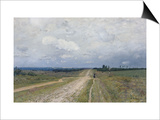 The Vladimirka Road, 1892 Prints by Isaak Ilyich Levitan