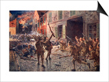 The Coldstream Guards at Landrecies, August 1914 Posters by William Barnes Wollen