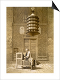 An Imam Reading the Koran in the Mosque of the Sultan, Morocco, 1817 Prints by Maurice Keating
