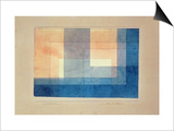 House on the Water, 1930 Prints by Paul Klee