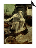 St. Jerome, circa 1480 Prints by  Leonardo da Vinci