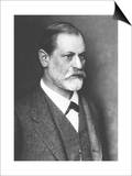 Portrait of Sigmund Freud circa 1900 Posters