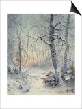 Winter Breakfast Prints by Joseph Farquharson