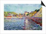 Port-En-Bessin, Calvados, C.1884 Posters by Paul Signac