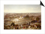 Jerusalem in Her Grandeur Prints by Henry Courtney Selous