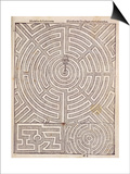 Designs For Mazes, from The Dutch Gardener by Johann Van Der Groen, Published 1699 Posters
