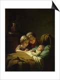 The Three Sisters Prints by Johann Georg Meyer von Bremen