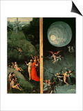 The Ascent into the Empyrean or Highest Heaven Poster by Hieronymus Bosch