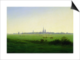 Meadows near Greifswald Prints by Caspar David Friedrich