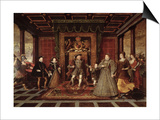 The Family of Henry VIII: an Allegory of the Tudor Succession, c.1570-75 Prints by Lucas De Heere