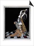 Scheherazade, from the Series Designs on the Dances of Vaslav Nijinsky Posters by Georges Barbier