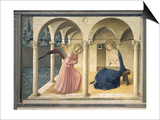 The Annunciation, circa 1438-45 Posters by  Fra Angelico