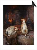 By the Hearth, 1894 Print by Philip Eustace Stretton