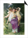 The Heart's Awakening, 1892 Prints by William Adolphe Bouguereau