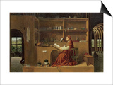 St. Jerome in His Study, c.1475 Posters af  Antonello da Messina