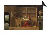 St. Jerome in His Study, c.1475 Posters by  Antonello da Messina