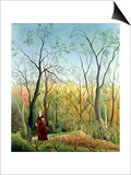 The Walk in the Forest, 1886-90 Prints by Henri Rousseau