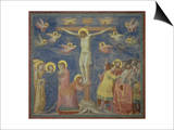 The Crucifixion, circa 1305 Print by  Giotto di Bondone