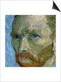 Self Portrait, 1889 Print by Vincent van Gogh