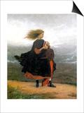 The Girl I Left Behind Me Art by Eastman Johnson
