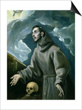St. Francis Receiving the Stigmata Prints by  El Greco
