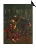 La Belle Dame Sans Merci, 1893 Prints by John William Waterhouse
