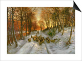 Glowed with Tints of Evening Hours Prints by Joseph Farquharson