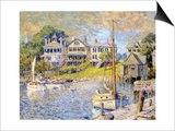 Edgartown, Martha's Vineyard, 1915 Posters by Colin Campbell Cooper