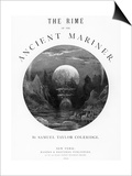 Title Page from 'The Rime of the Ancient Mariner' by S.T. Coleridge, Published by Harper and Brothe Print by Gustave Doré