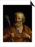 St. Joseph Prints by  Guercino (Giovanni Francesco Barbieri)