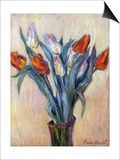 Tulips, 1885 Posters by Claude Monet