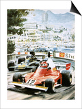 Niki Lauda Posters by Graham Coton