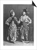 Chinese Actors, circa 1870 Prints by John Thomson