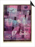 Analysis of Diverse Perversities, 1922 Poster by Paul Klee