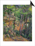 In the Park of Chateau Noir, circa 1896-99 Prints by Paul Cézanne