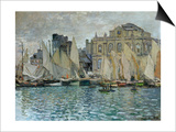 View of Le Havre, 1873 Posters by Claude Monet