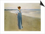 The Seashore, 1900 Poster by William Henry Margetson