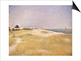 View of Fort Samson, 1885 Prints by Georges Seurat