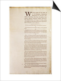 The United States Constitution, 1787 Posters by  American School
