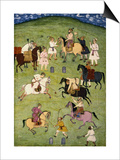 A Game of Polo, from the Large Clive Album Prints