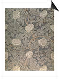 """Rose-90"" Wallpaper Design Posters by William Morris"
