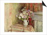 Flowers in a Vase, 1905 Posters par Edouard Vuillard