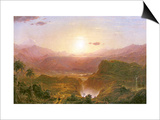 The Andes of Ecuador, c.1876 Prints by Frederic Edwin Church
